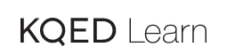 KQED Learn logo header with link to website