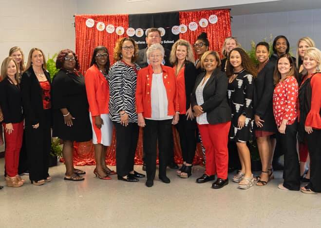governor ivey and faculty