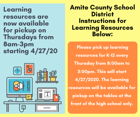 Learning Resources Pickup