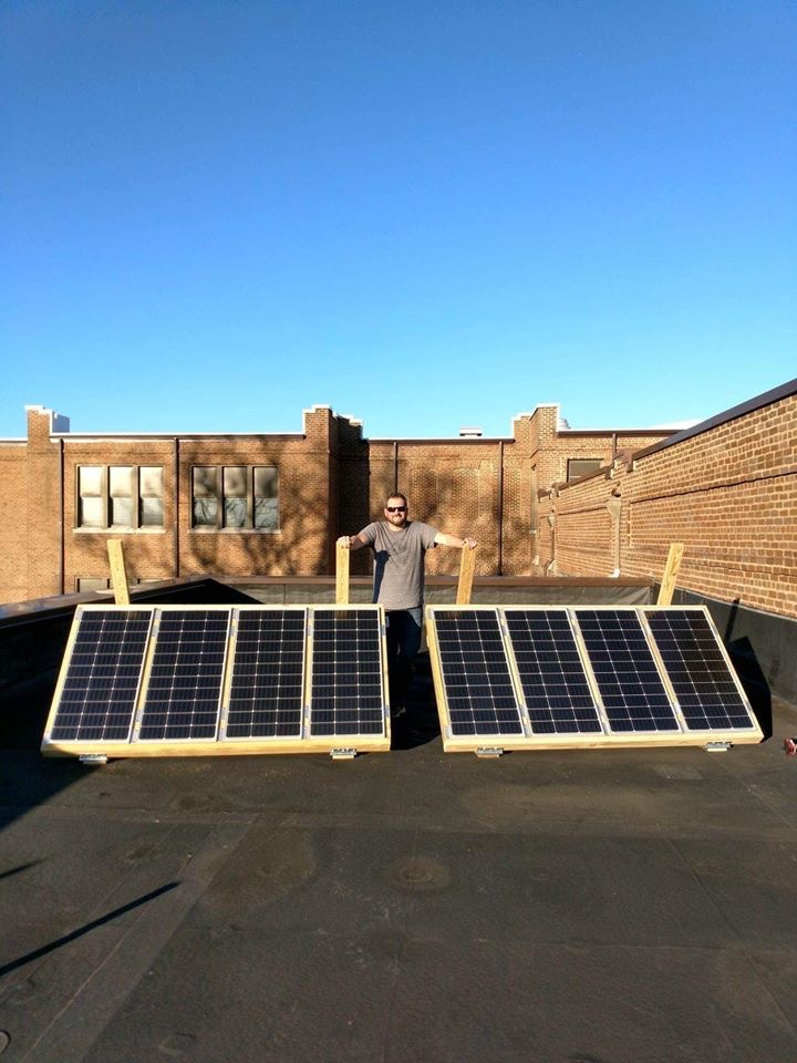 STEM Lab going solar!