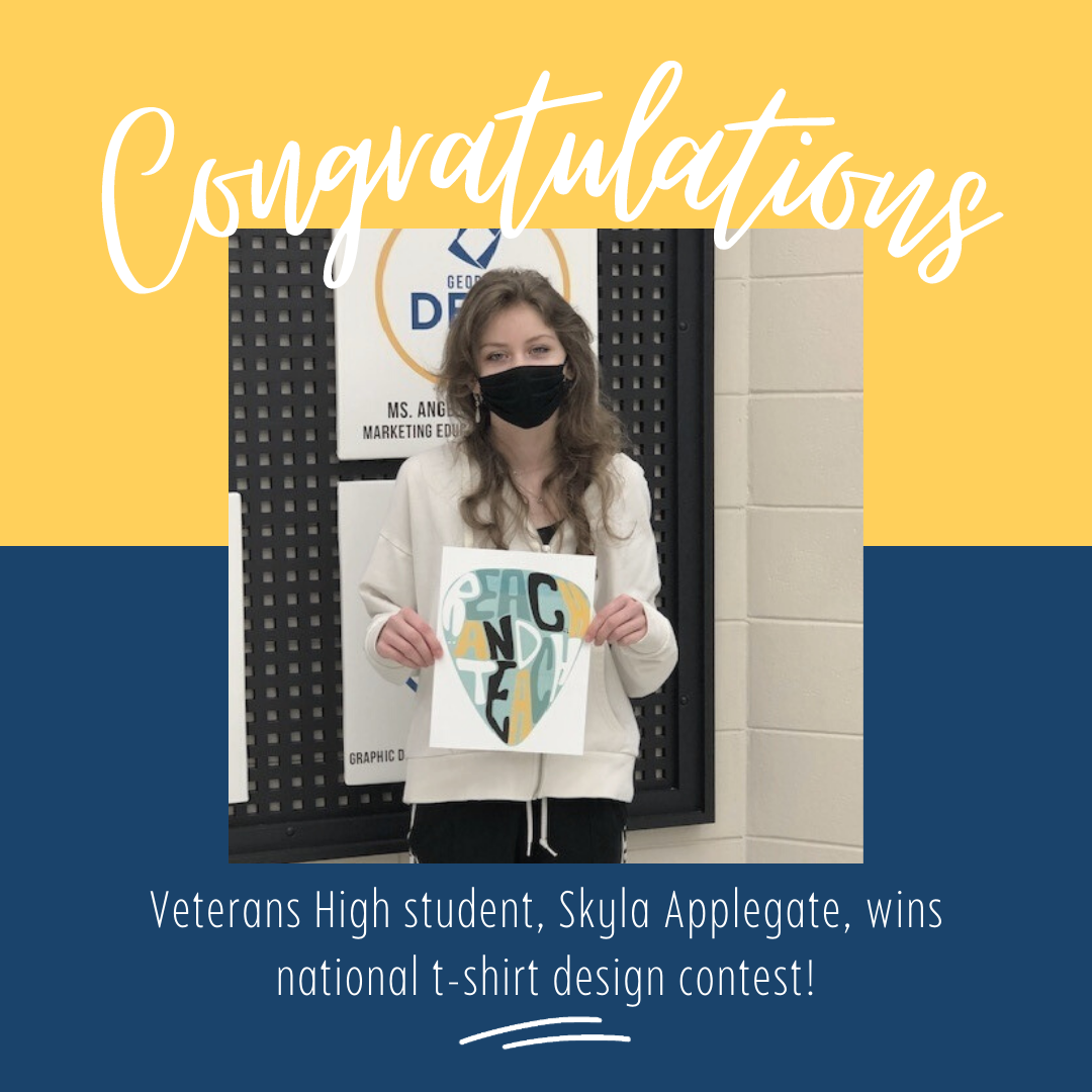 VHS Students Wins Nationwide Design Contest