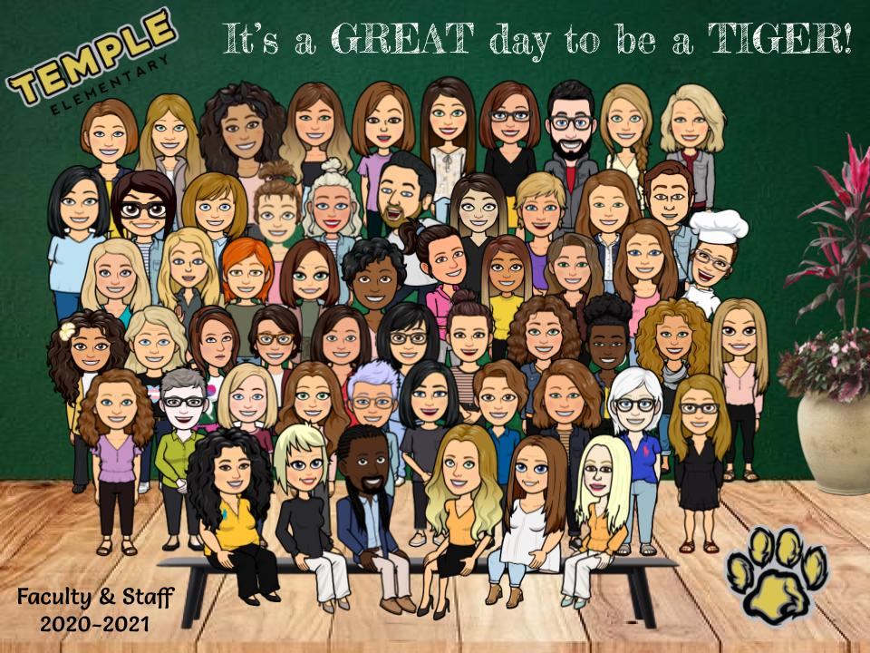 Staff Bitmoji Picture