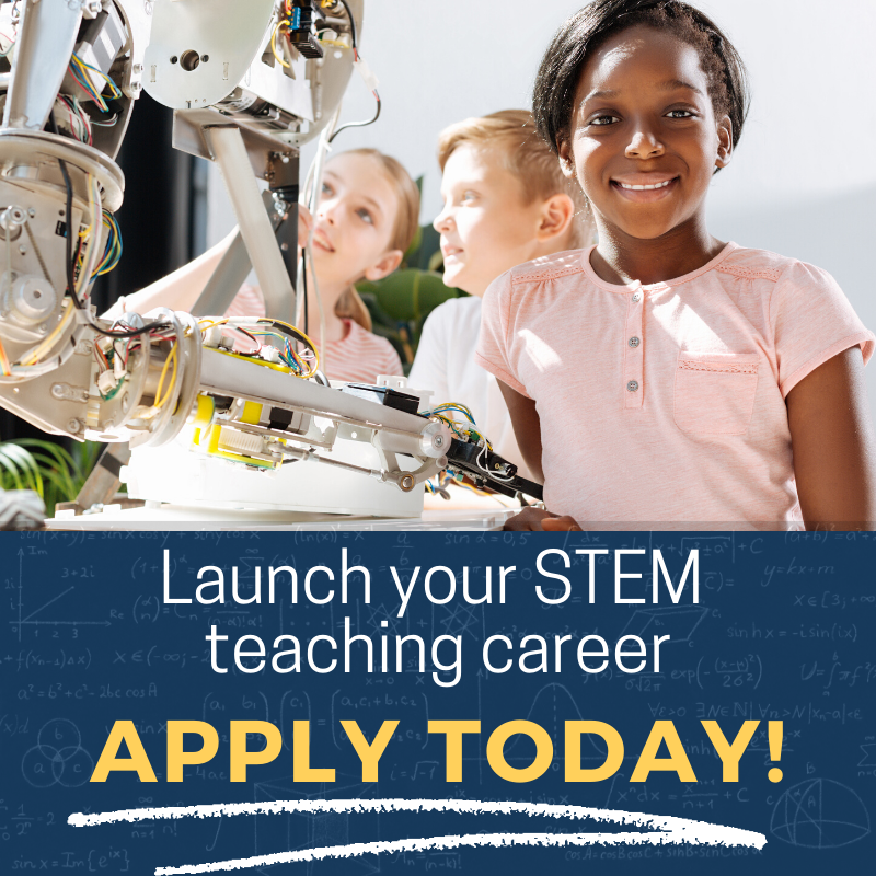 Launch your STEM career - Apply today!