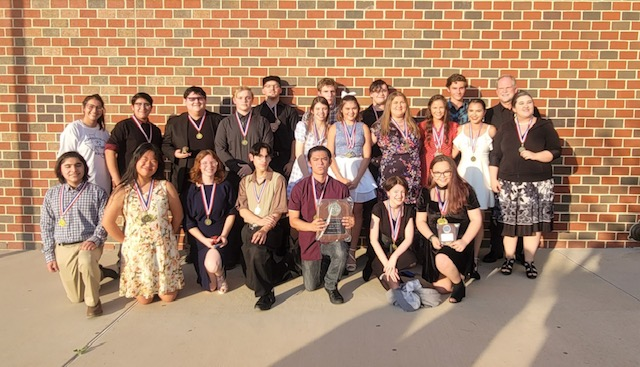 OAP competes at regional