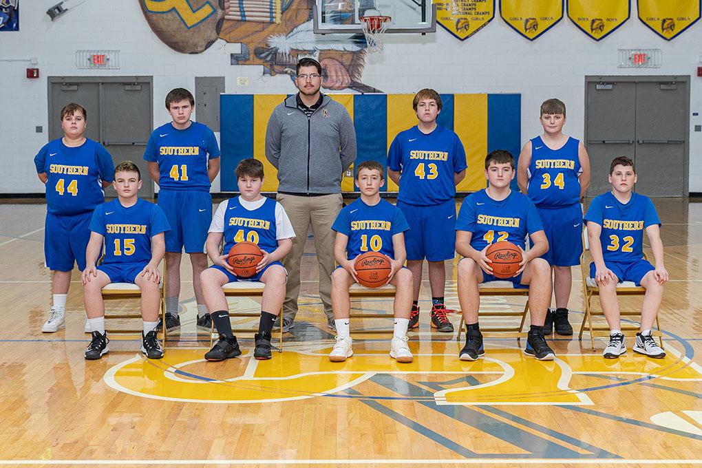 2020-21 7th Grade team picture