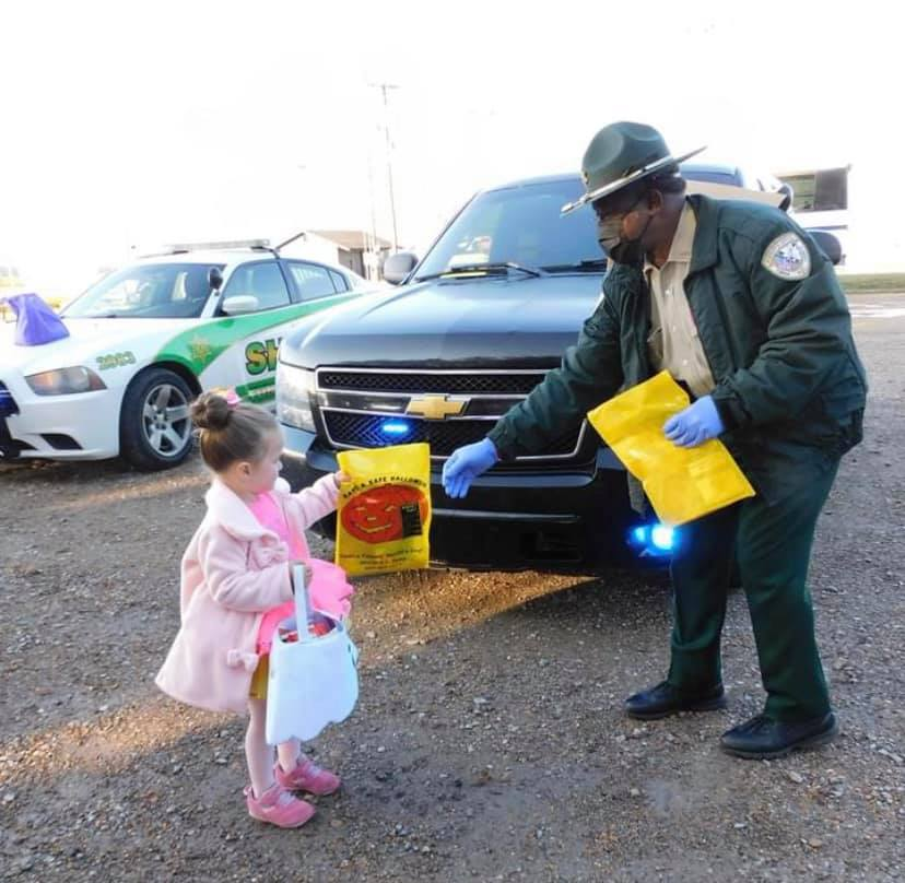 Trunk or Treat with Community Helpers