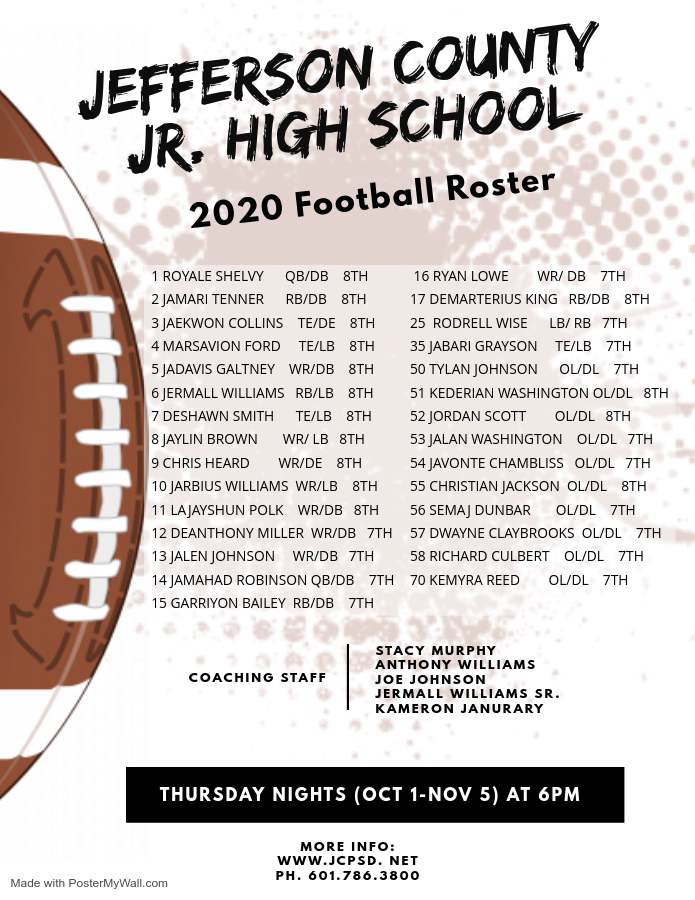 Football Rosters