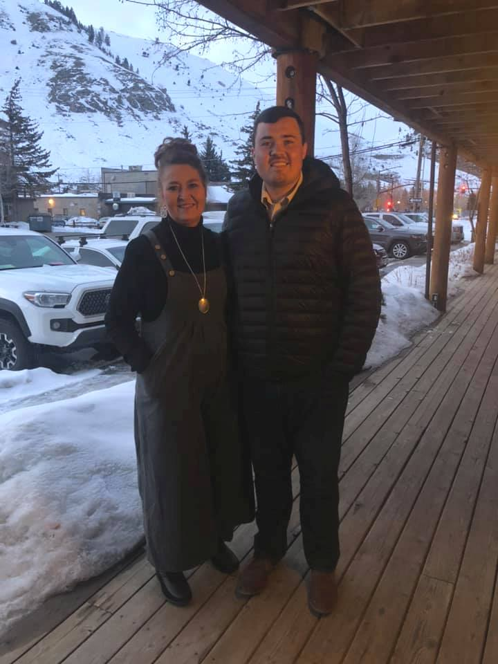 Marcia & Will in Jackson Hole
