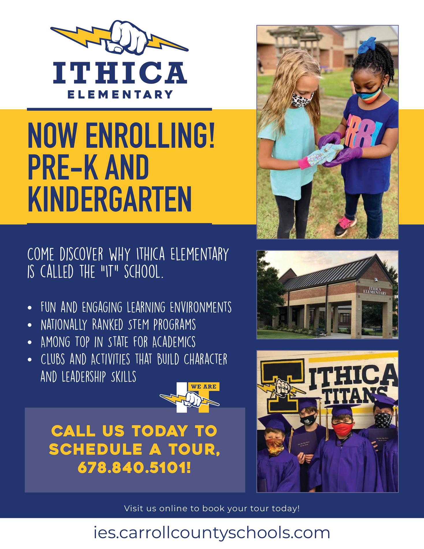 kindergarten and prek registration flyer
