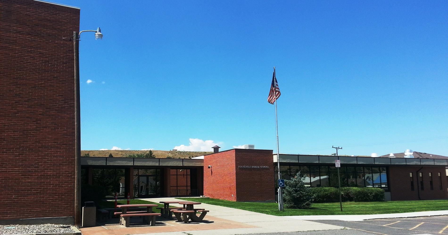 Roosevelt Middle School Pictured