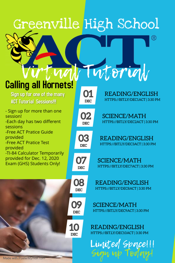 GHS Virtual ACT  Workshop