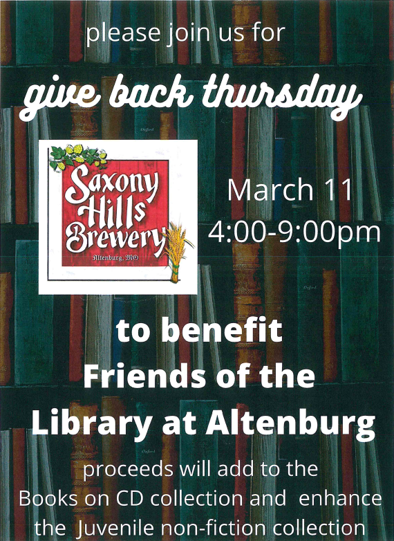 library fundraiser