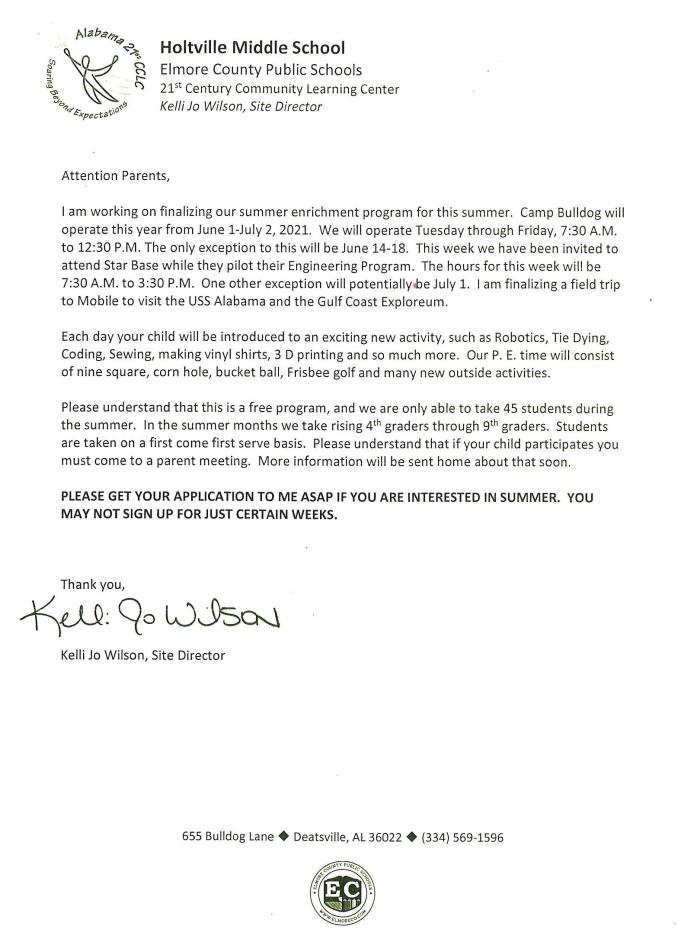 21st Century Letter