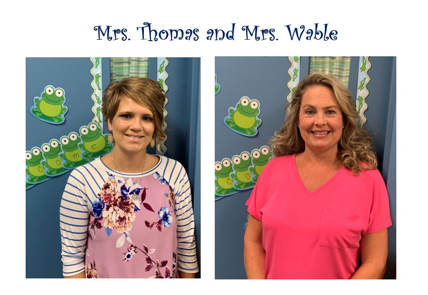 Mrs. Thomas & Mrs. Wable