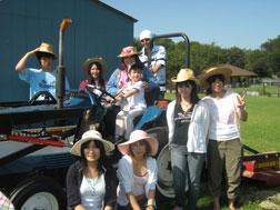 Japan meets a Texas farm