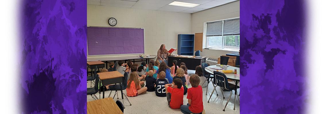3rd grade teacher reading