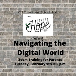 Navigating the Digital World Training for Parents
