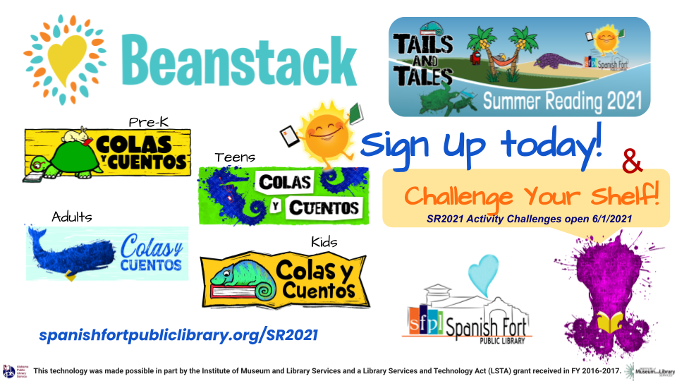 Take the Summer Reading Challenge in your BEANSTACK account today!