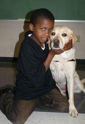 Boy and Dog