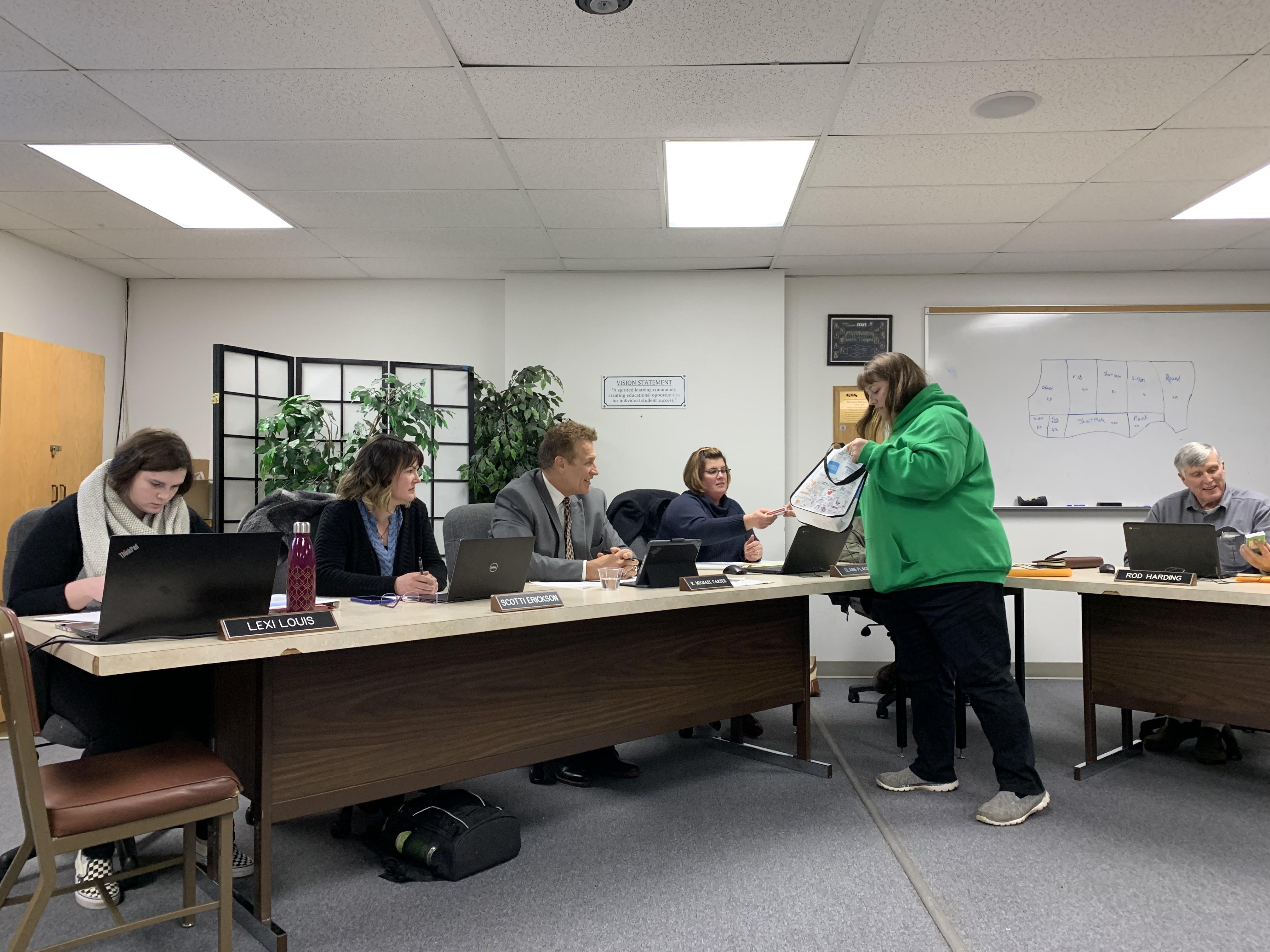 School Board Meeting, Jan. 2020 3