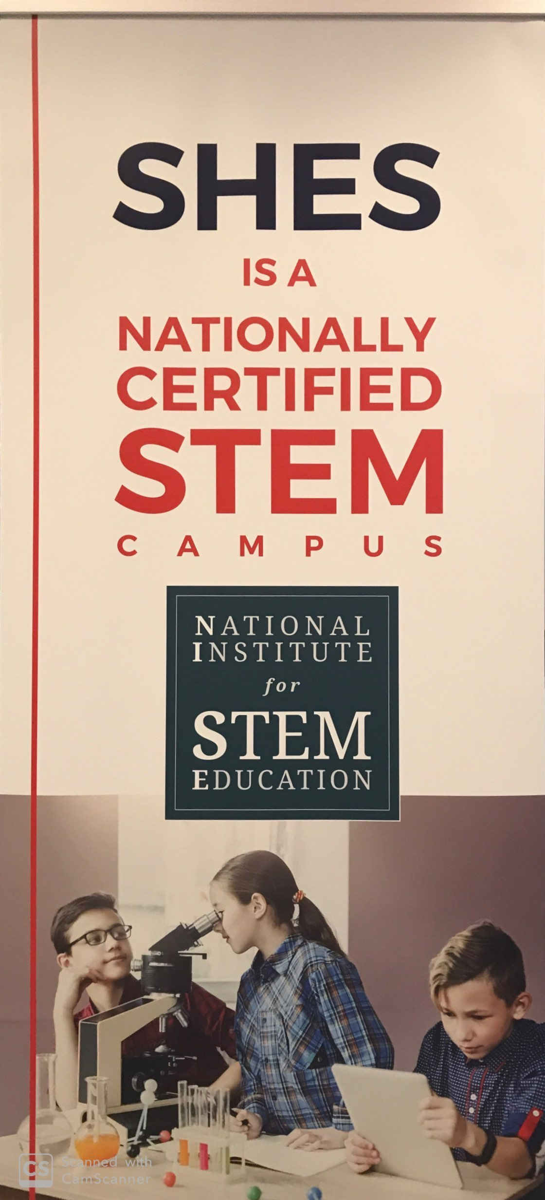 Nationally Certified STEM Campus