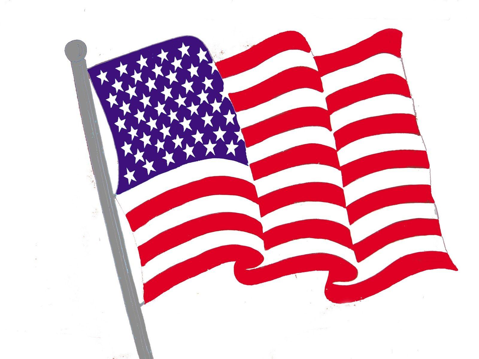 USA Clipart Flag