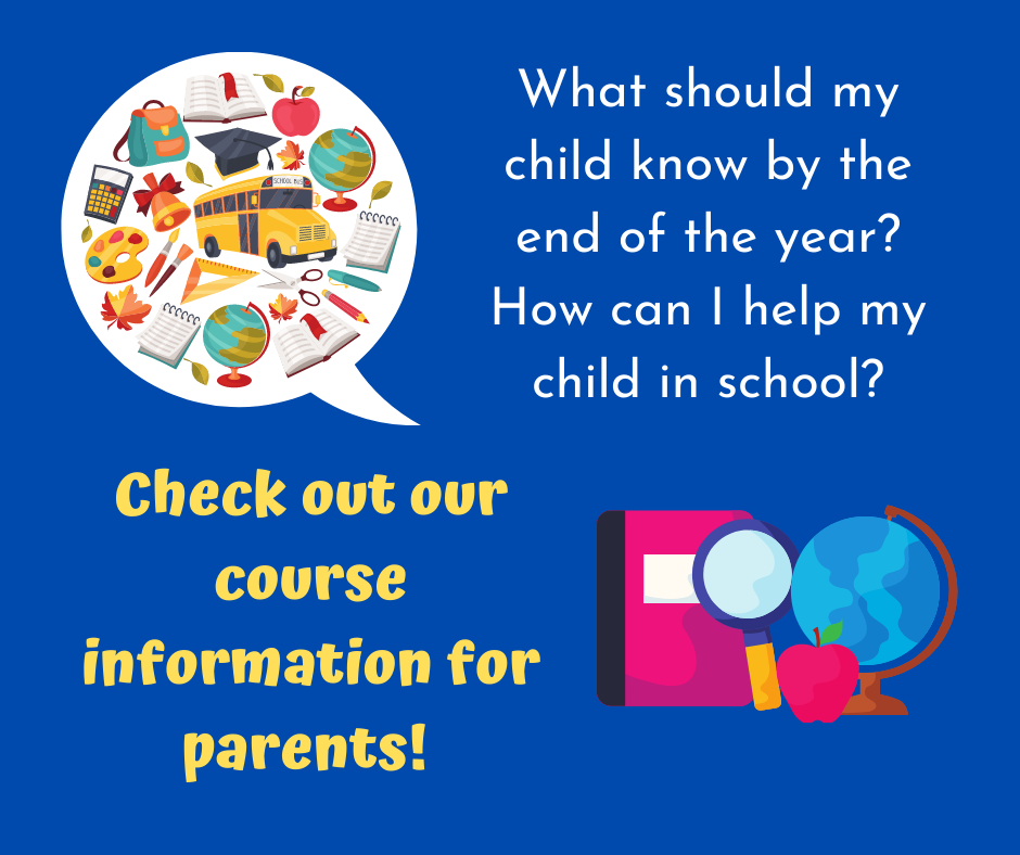 parent course information