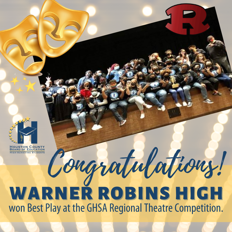 WRHS Wins Best Play at GHSA Regional Competition