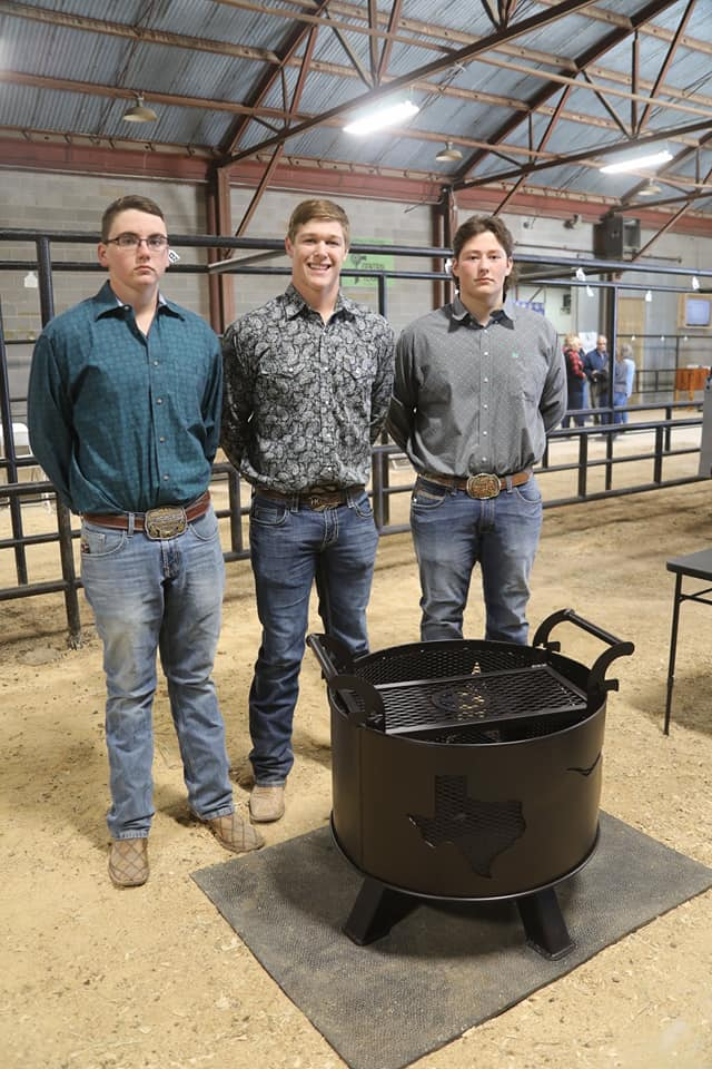 May FFA Ag Mechanics Fire Pit - 8th Place 2020 Brown County Youth Fair