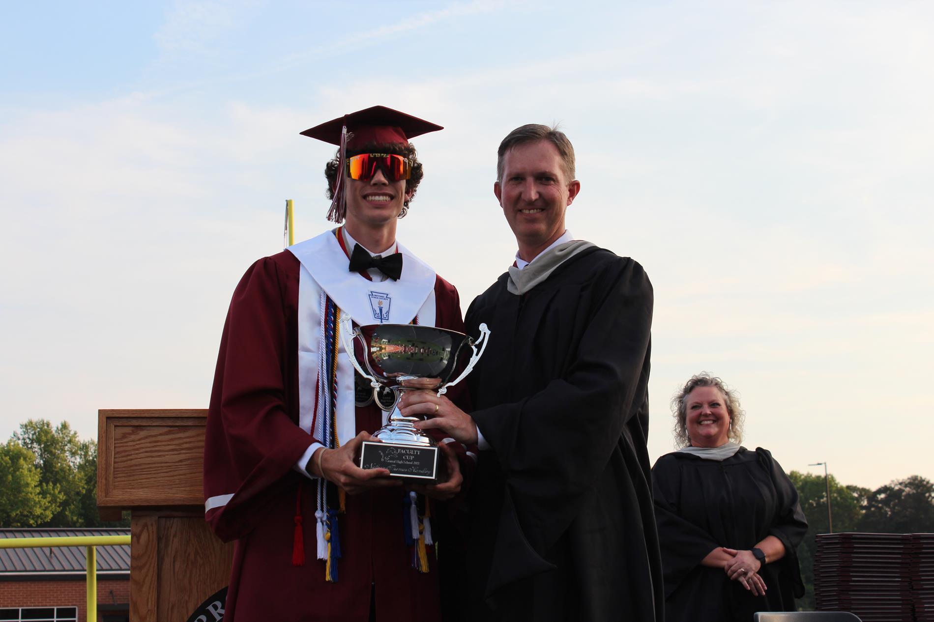 Faculty Cup Recipient