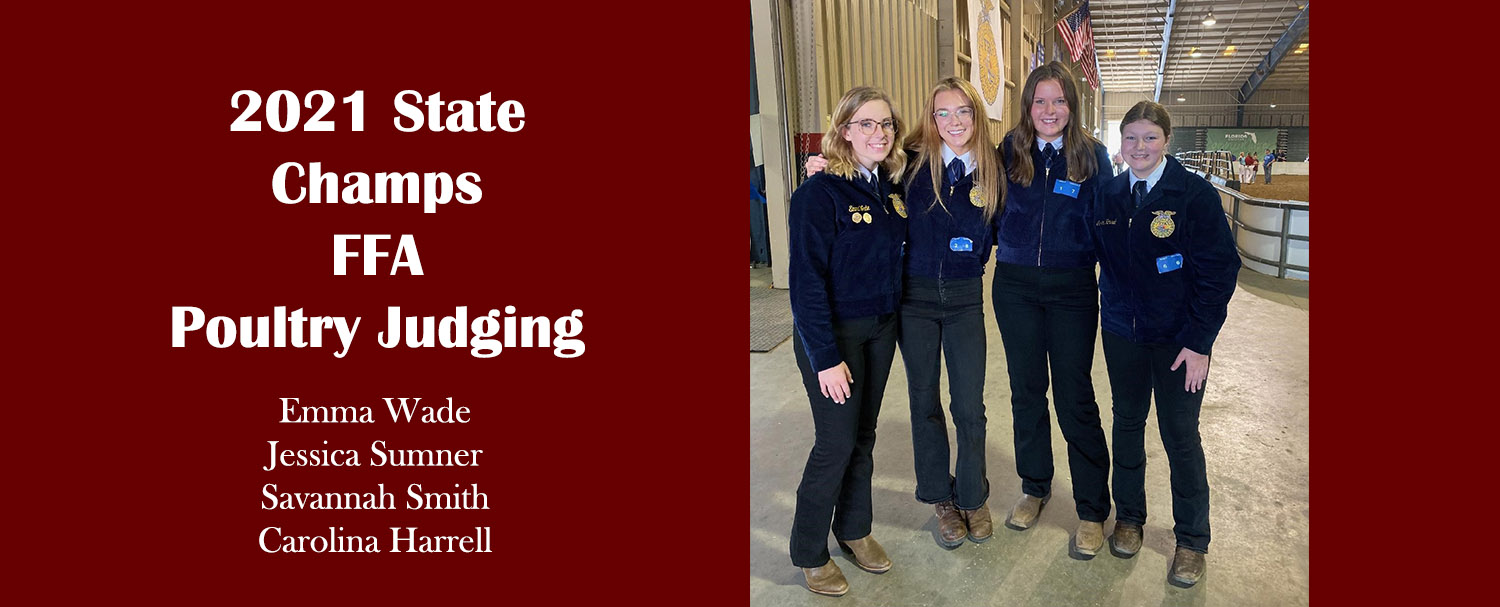 2021 State FFA Champs Poultry Judging