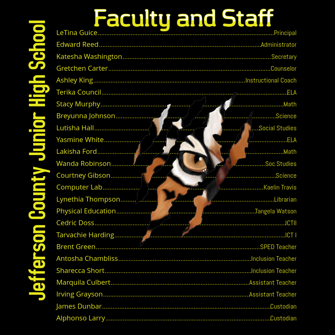 Faculty and Staff revised