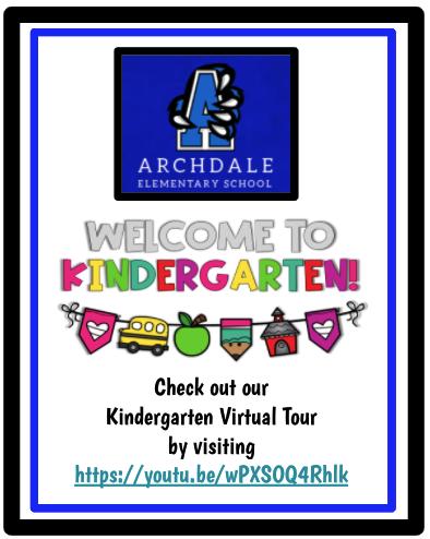Kindergarten Virtual Tour
