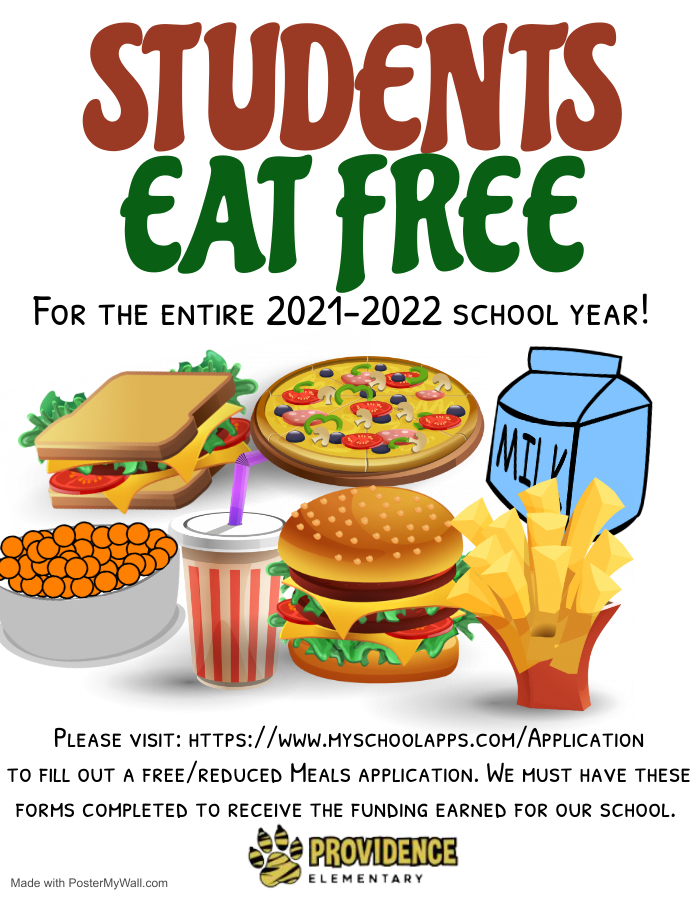Students Eat Free Flyer