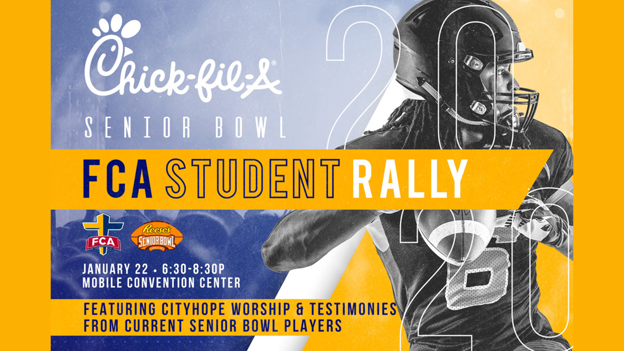 Senior Bowl Rally