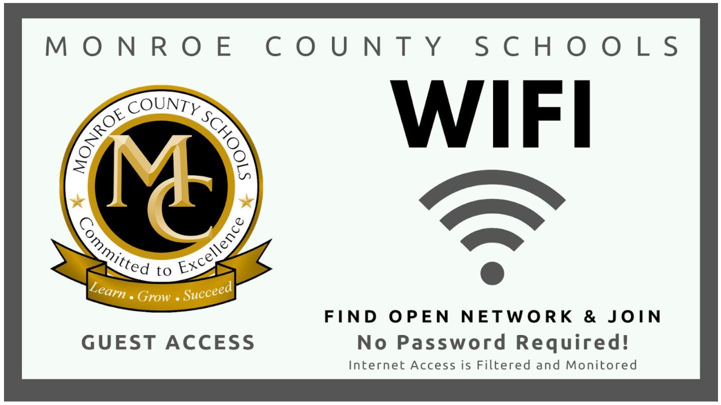 Monroe County Schools Guest Wifi Info