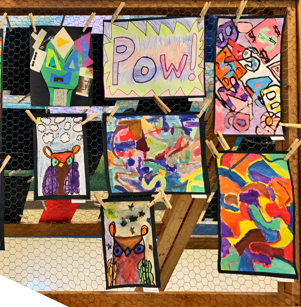 4th and 5th art show