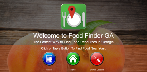 Food Finder Screen Shot