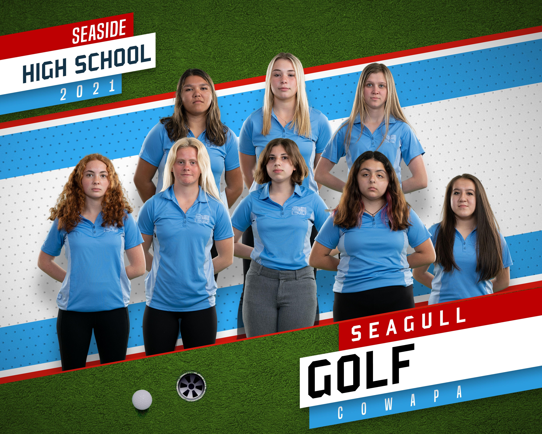 girls golf 2020-2021