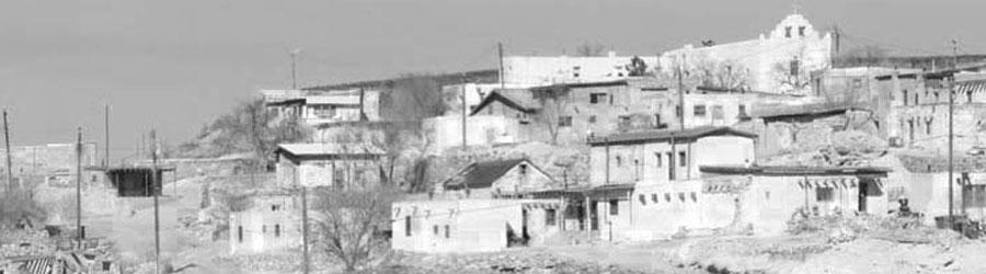 Historical photo of Laguna Pueblo