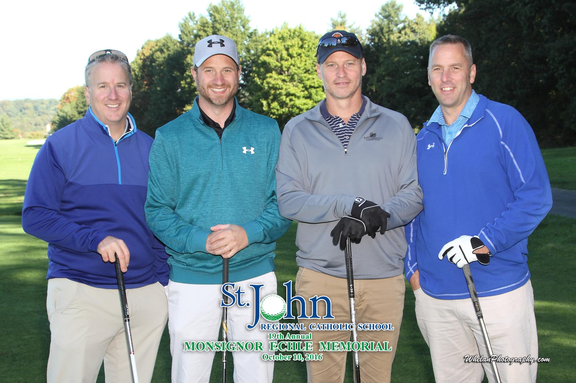 Monsignor Echle Memorial golf tournament more golfers