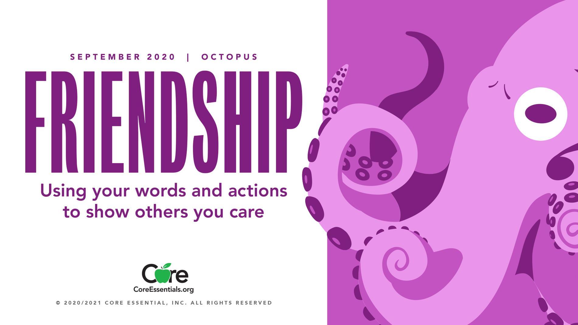 September 2020-Friendship