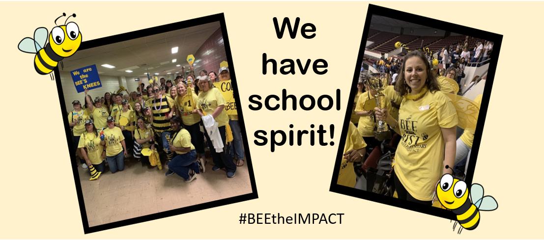 We have spirit!