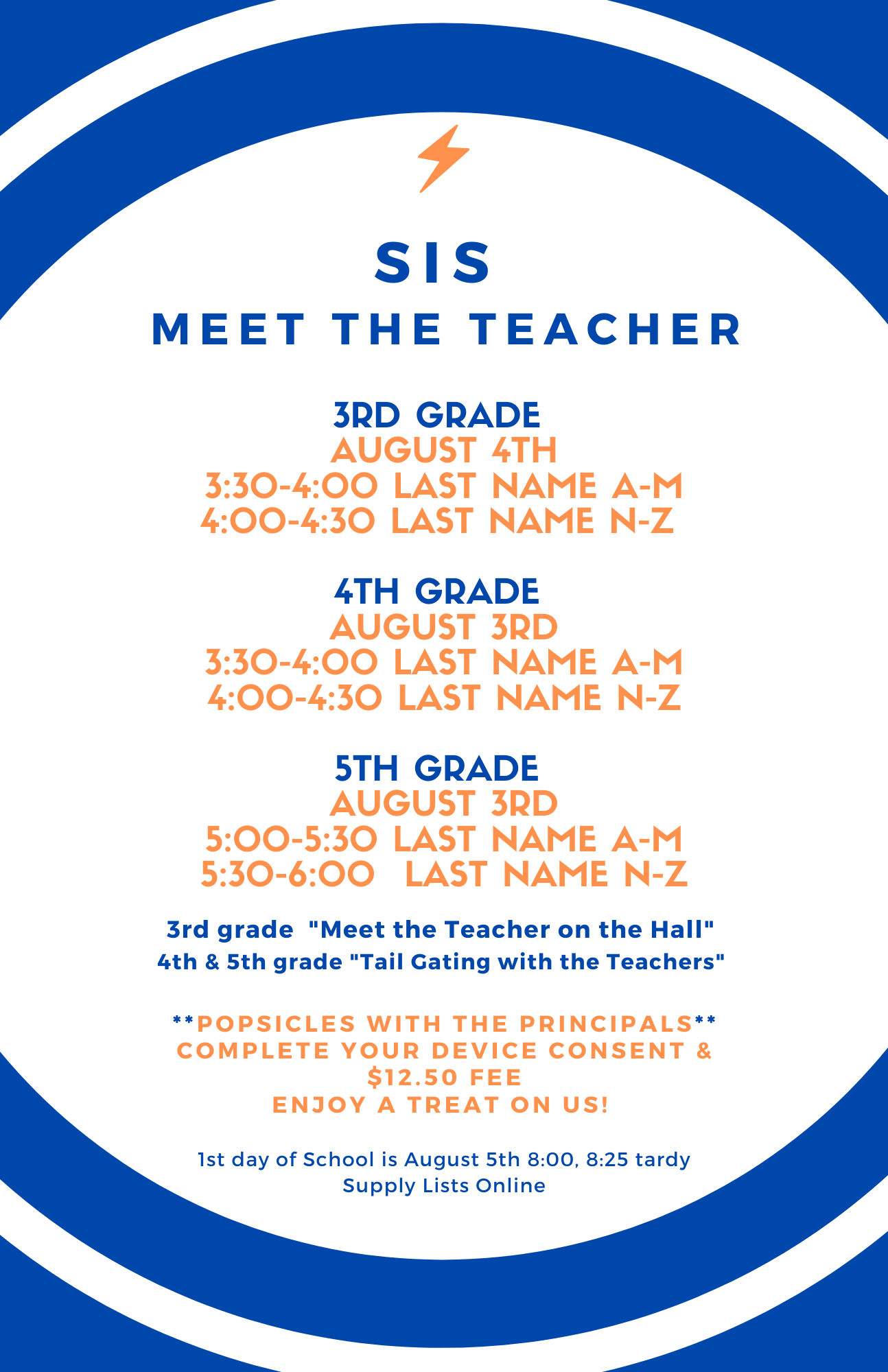 SIS Meet the Teacher