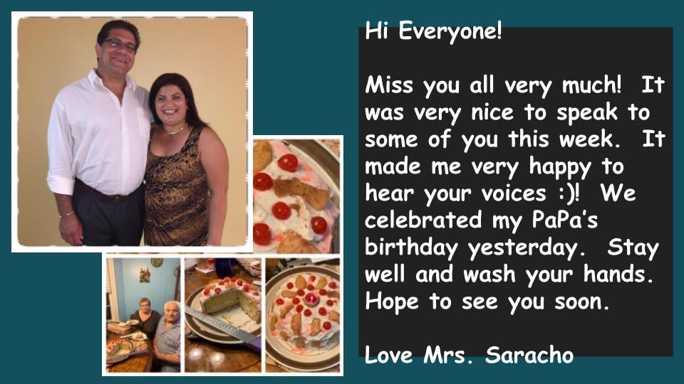 Mrs. Saracho