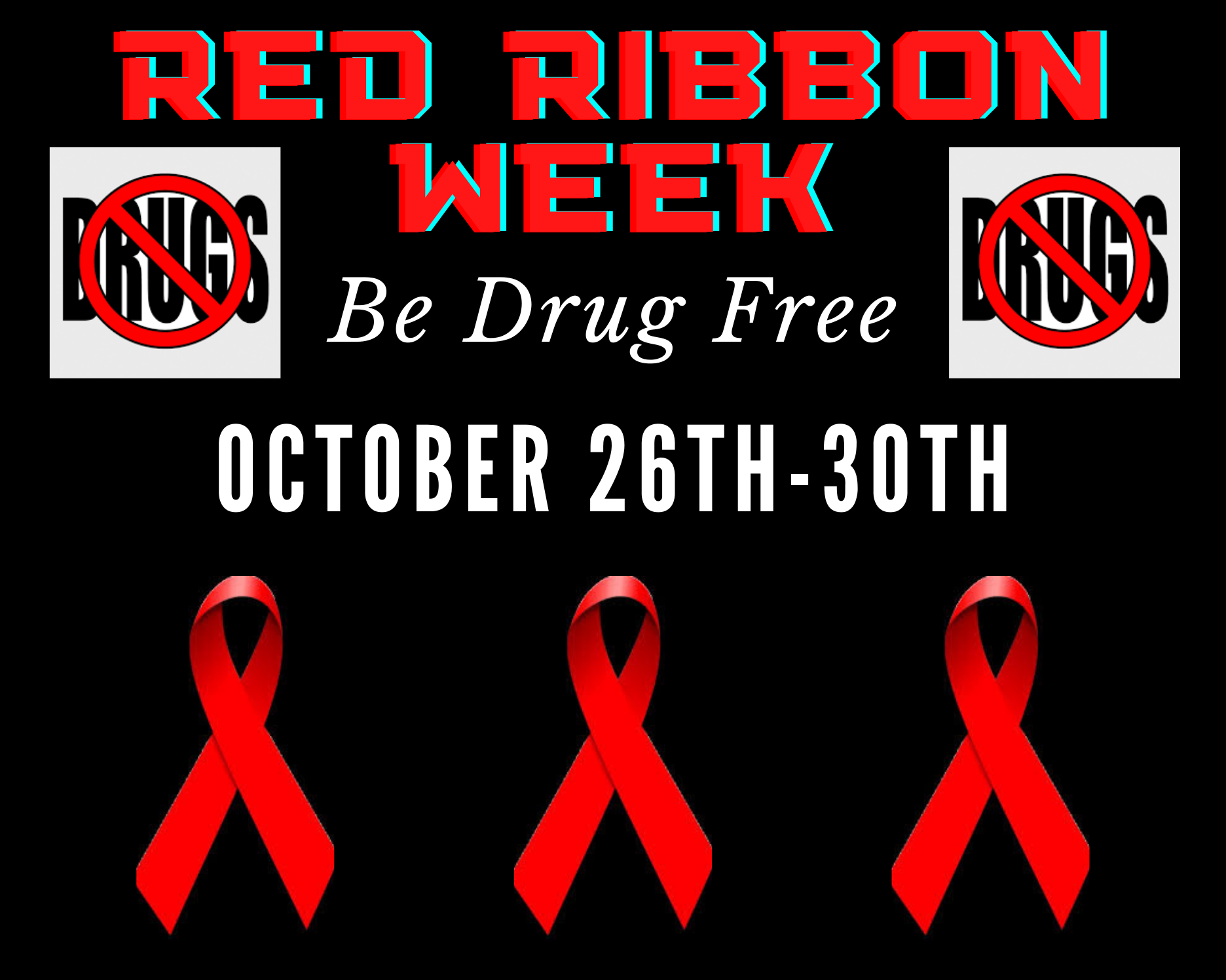 Red Ribbon Week October 2020