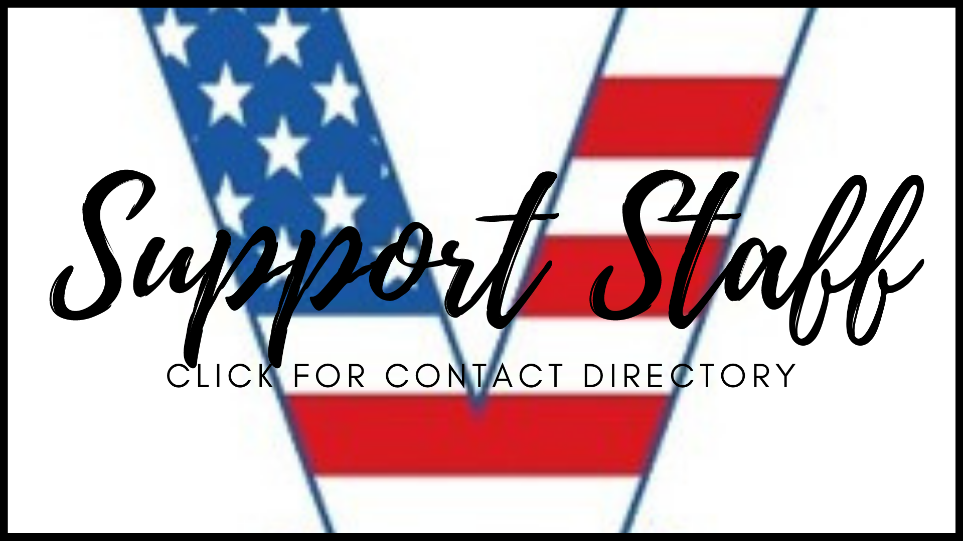 Support Staff link to contact directory