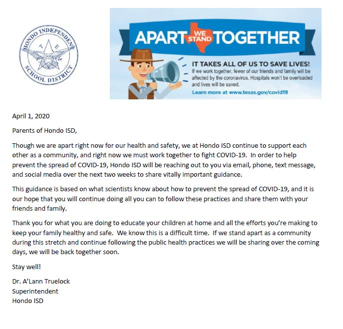 Apart we stand together