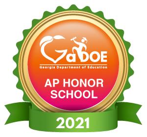 Georgia Dept of Education AP Honor School 2021