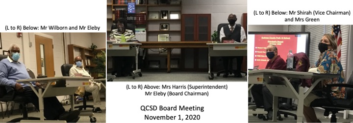 NOVEMBER 2020 BOARD MEETING PIC
